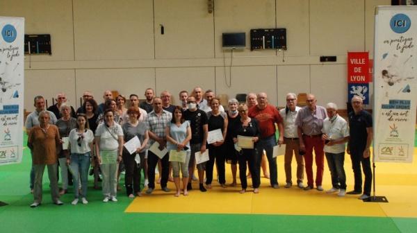 Retour sur l'AG du Comité du Rhône Métropole Lyon Judo 2021